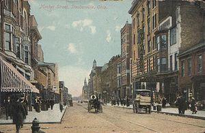 Steubenville, Ohio - Market Street, 1910