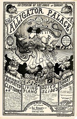 Bob Gardiner (animator) - Image: Poster Alligator Palace