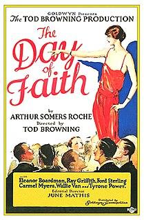 <i>The Day of Faith</i> 1923 film