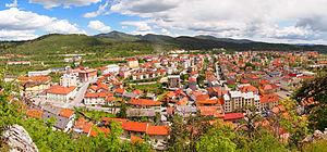 Postojna - Image: Postojna panorama 2