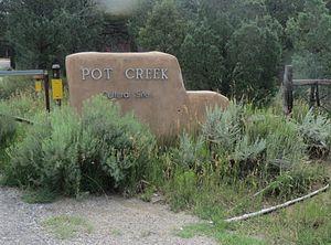 Pot Creek Cultural Site - Pot Creek Entrance