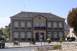 Town hall and school