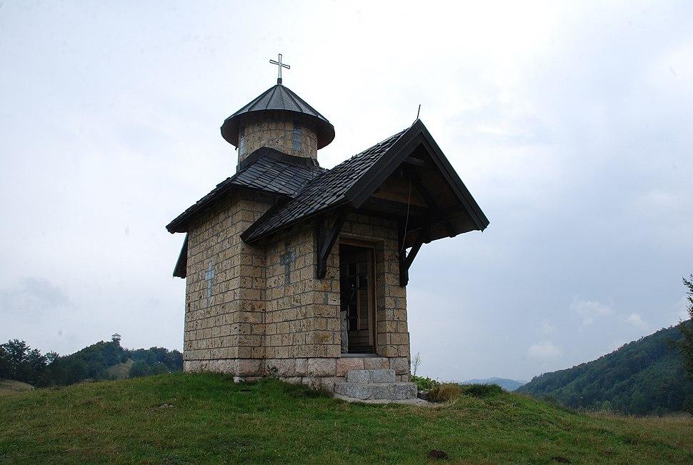 Povlen- zapadna Srbija - mesto Kneževo polje - Crkva na Kneževom polju 5