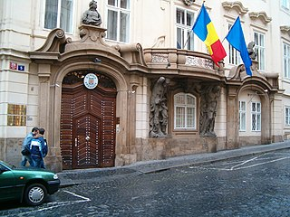 Morzin Palace Building in Prague