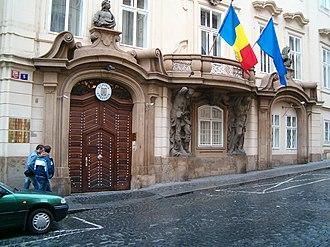 Morzin Palace - Front elevation (2007)