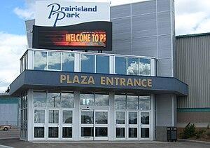 Prairieland Park - Image: Prairieland Exhibition building, Saskatoon