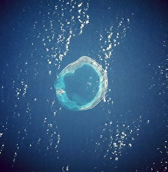 Pratas Islands - Pratas Islands from space, January 1986.