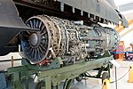 Pratt & Whitney J58-JT11D-20K turbojet engine, 1962 - Lockheed SR-71A Blackbird, 1966 - Evergreen Aviation & Space Museum - McMinnville, Oregon - DSC01037.jpg