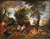 Predicatin of Saint John the Baptist-Francesco Albani-MBA Lyon A127-IMG 0346.jpg