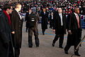 President Barack Obama walks in 57th Presidential Inaugural Parade 130121-Z-QU230-192.jpg