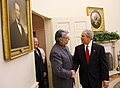 President George W. Bush Welcomes President Fernando Lugo of Paraguay to the Oval Office.jpg