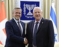 President Reuven Rivlin met with the Danish Foreign Minister the Minister of Foreign Affairs of Costa Rica (6610).jpg