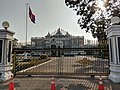 Presidential Palace of Laos at the gate.jpg