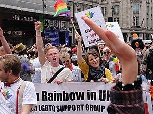 WorldPride - Polish Rainbow in UK at WorldPride / Pride London 2012