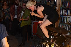 Priests - Live 6-29-2014 At Nice Price Books, Raleigh, NC by Will Butler.jpg