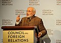 Prime Minister Modi addresses the Council on Foreign Relations in New York City.jpg