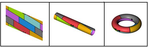 Projection color torus