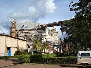 Almeirim, Pará - Image: Projeto Jari fabrica (frente)