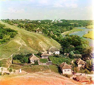 Putyvl City in Sumy, Ukraine