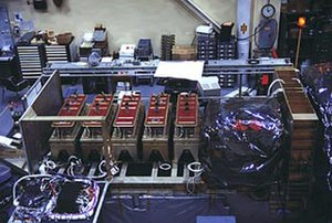 X-ray astronomy - Proportional Counter Array on the Rossi X-ray Timing Explorer (RXTE) satellite.