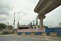Proposed Satyajit Ray Metro Station Under Construction - Eastern Metropolitan Bypass - Kolkata 2016-06-23 5035.JPG