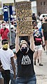 Protest against police violence - Justice for George Floyd (49941319678).jpg