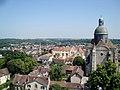 Provins-the village and Saint Quiriace Collegiate Church.jpg