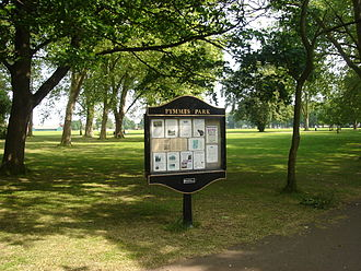 Pymmes Park - Playing fields