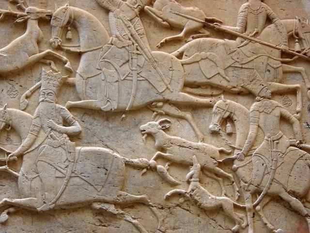 Qajari relief