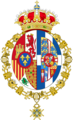 Queen of Spain Coat of arms.png