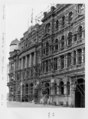 Queensland State Archives 6456 Scaffolding at Eagle and Queen Streets Brisbane June 1959.png