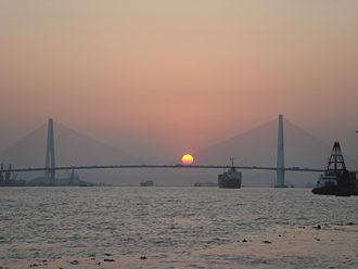 Queshi Bridge - Image: Queshi Bridge in Shantou