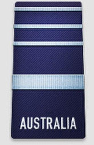Air chief marshal - An Australian air chief marshal's rank insignia