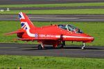 RAF Red Arrows at Prestwick Airport (29732934986).jpg
