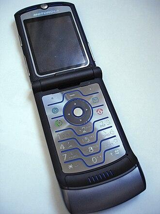Motorola Razr - Image: RAZR V3i opened