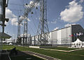 RIAN archive 323433 Zapadnaya, a new substation, 500 kW Moscow energy ring.jpg