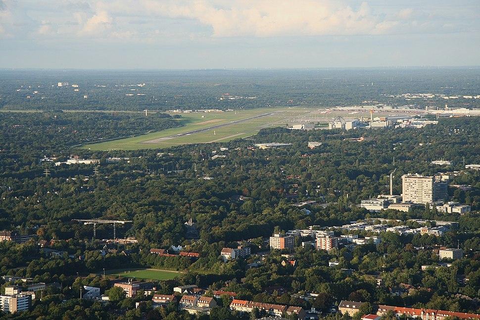 RK 1009 9838 Lokstedt Flughafen
