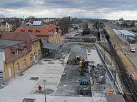 Radebeul Bahnhof Radebeul Ost 2013 Bauarbeiten 02.JPG