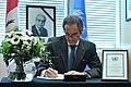 Rafael Mariano Grossi signs Book of Condolences (01313876) (49625518838).jpg