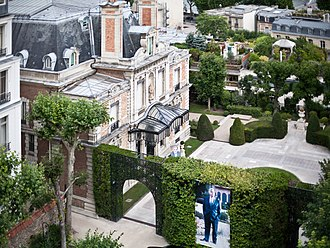 Rafic Hariri - Rafic Hariri's former residence in Paris