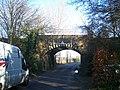 Railbridge over Kiln Barn Road - geograph.org.uk - 1144093.jpg