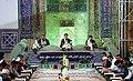 Ramadan 1439 AH, Qur'an reading at Goharshad Mosque, Mashhad - 29 May 2018 18.jpg
