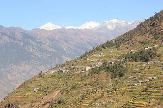 Ramche, Rasuwa Village development committee in Bagmati Zone, Nepal