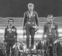 Ramezan Kheder, Vladimir Yumin, Hans-Dieter Brüchert 1974.jpg