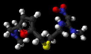Canada v GlaxoSmithKline Inc - Molecular structure of ranitidine