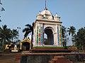 Rasmancha of Gokulananda Ek Ratna temple at Alangiri under Purba Medinipur district in West Bengal 04.jpg