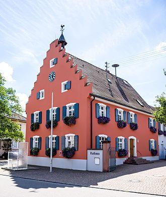 Gottenheim - Image: Rathaus (Gottenheim) jm 20073
