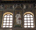 Ravenna, sant'apollinare nuovo, int., santi e profeti, epoca di teodorico 06.JPG