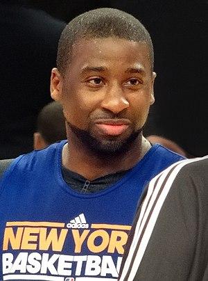 Raymond Felton - Image: Raymond Felton Knicks cropped