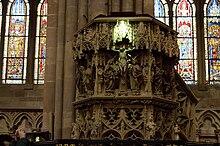 Le rayon vert sur le Christ à 11 h 38 au printemps.